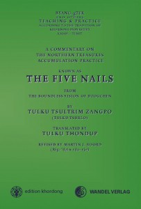 Cover Five Nails Commentary by Tulku Tsurlo