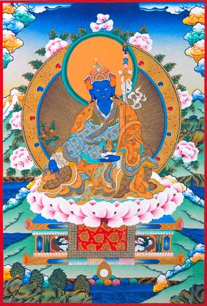 Guru Rinpoche in seiner heilenden Erscheinung