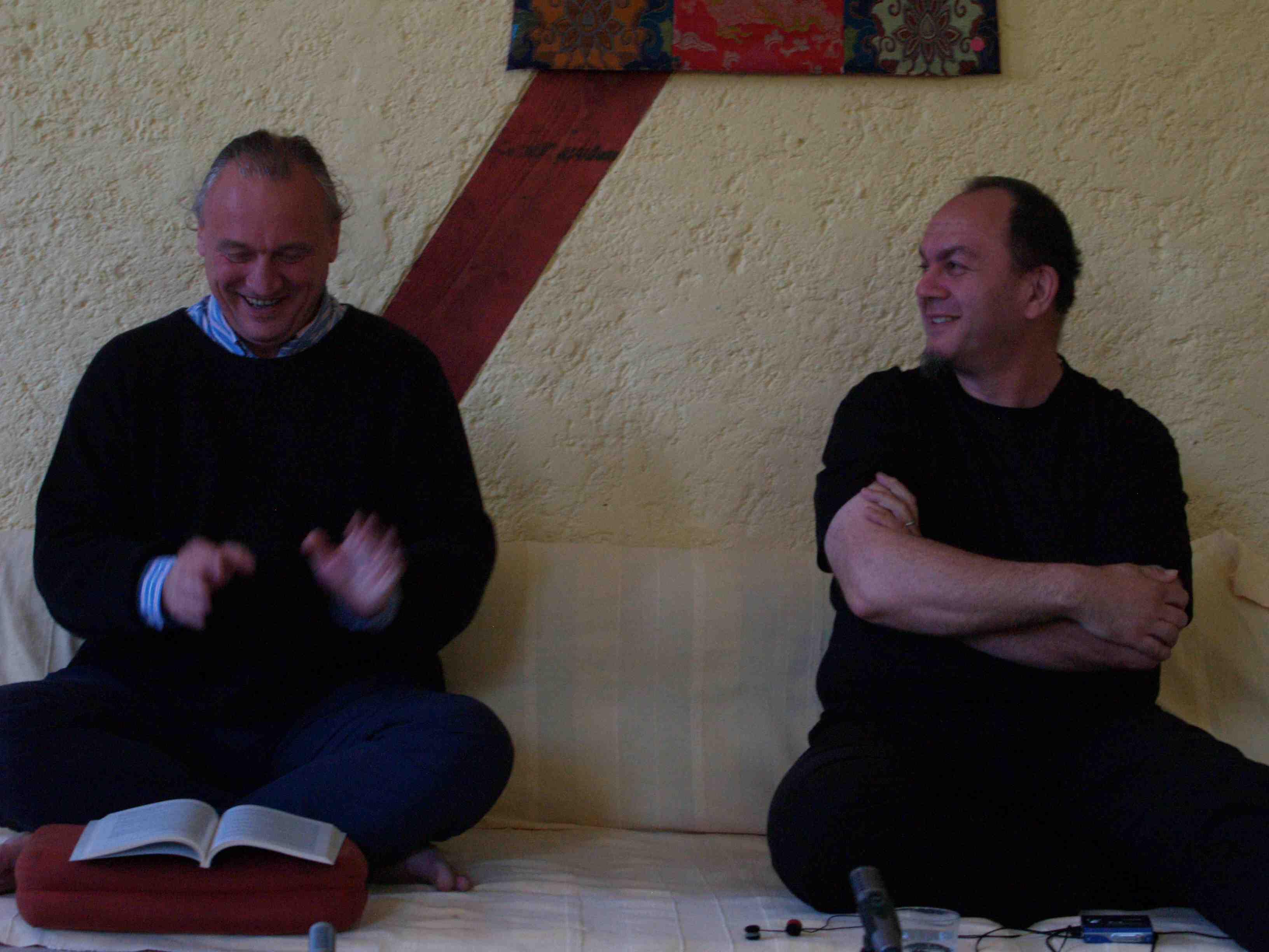 James Low und Robert Jaroslawski, 2007